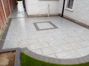 granite patio paving with designers
