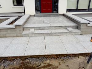 granite steps job