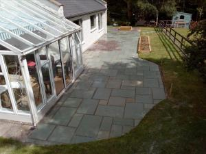 limestone patio paving in dublin