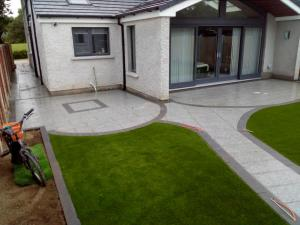 natural stone paving patio