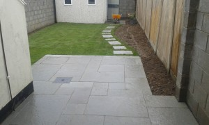 Grey Limestone Patio