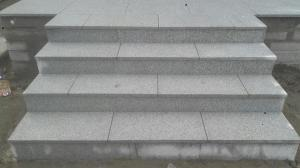 granite paving steps