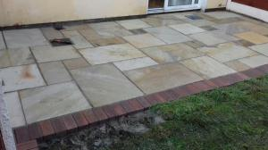 sandstone with rustic border